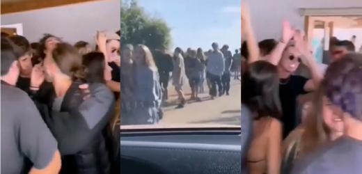 """Fiesta clandestina en Cachagua llamó la atención en la prensa internacional por impunidad de los """"jóvenes ricos"""""""
