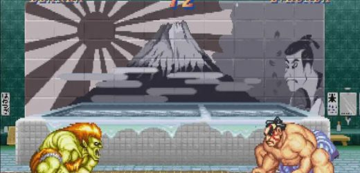Imagen del Sol Naciente es eliminada de Street Fighter II en Capcom Arcade Stadium