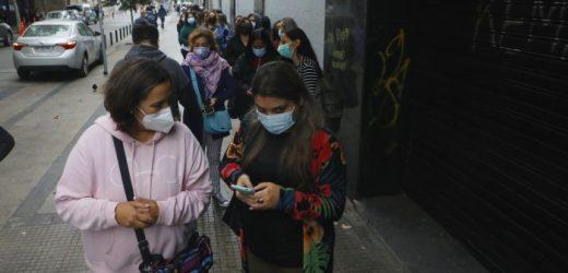 Más récords negativos para Chile: 7.626 nuevos contagiados y 41 mil casos activos