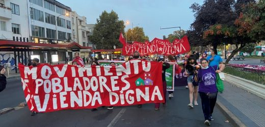 Protestas por vivienda digna se tomaron la capital este miércoles