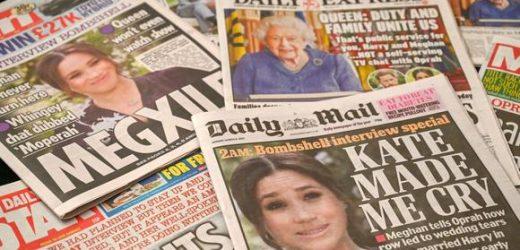 La reacción de los británicos ante la polémica entrevista de Meghan y Harry