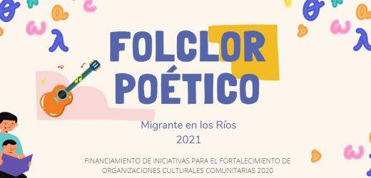 Iniciativa rescata el folclore poético de los migrantes de la Región de Los Ríos