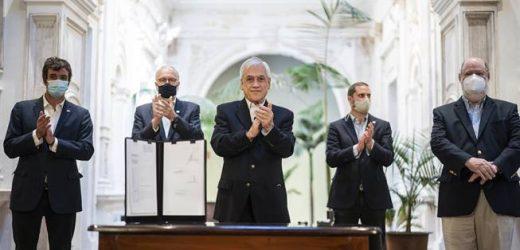 Presidente Piñera promulga dos leyes relacionadas con las elecciones 2021