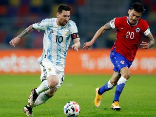 Sentimiento de optimismo se vive en jugadores de la roja tras empate 1-1 contra Argentina